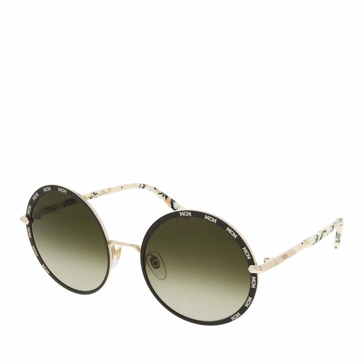Sonnenbrille, MCM, MCM127S Shiny Gold/Brown