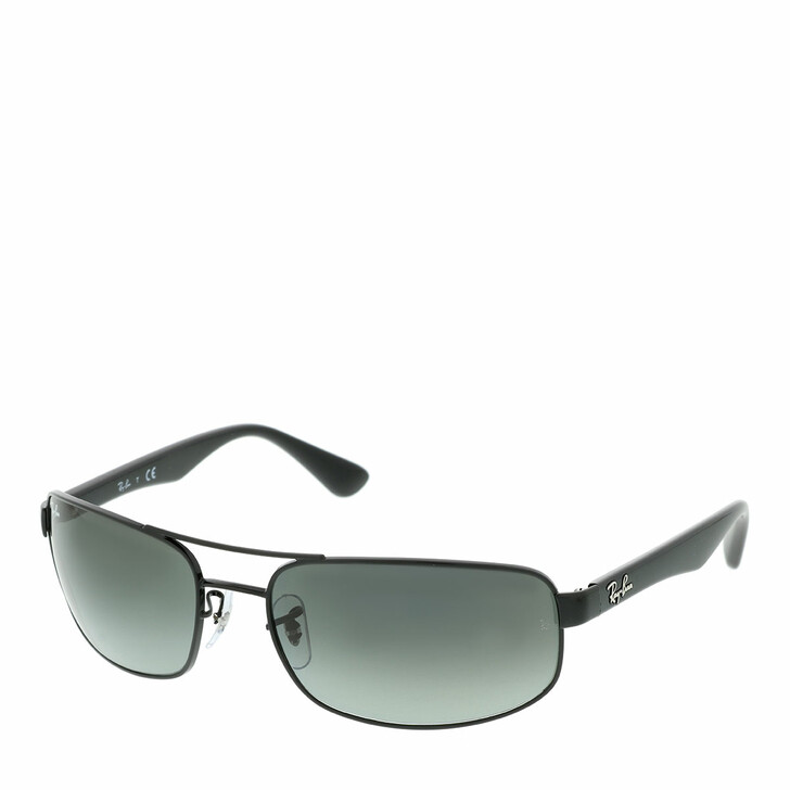Sonnenbrille, Ray-Ban, 0RB3445 002/71 Man Sunglasses Active Lifestyle Black