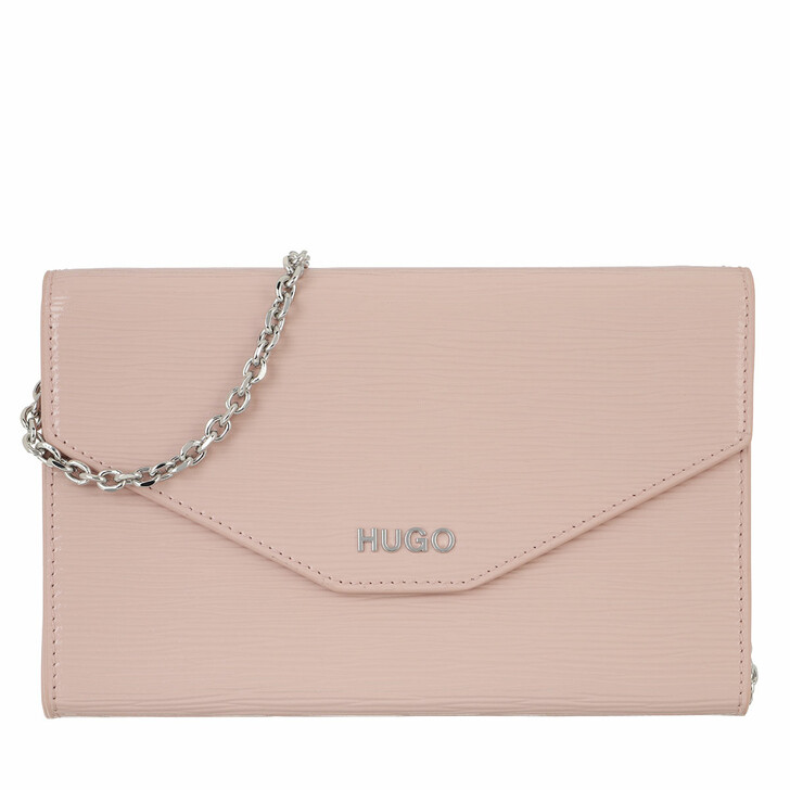 Handtasche, Hugo, Victoria Clutch Light Beige