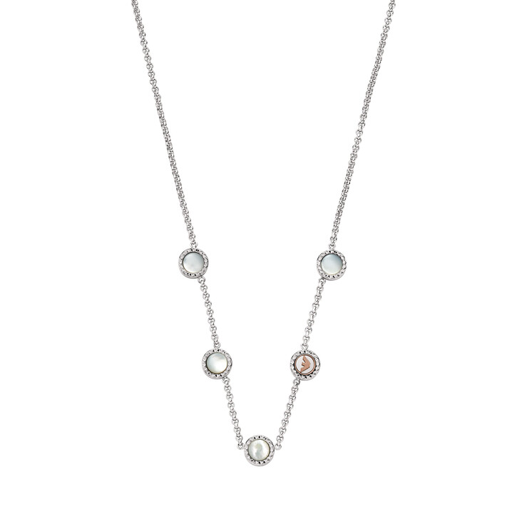 Kette, Emporio Armani, Stainless Steel Necklace Silver