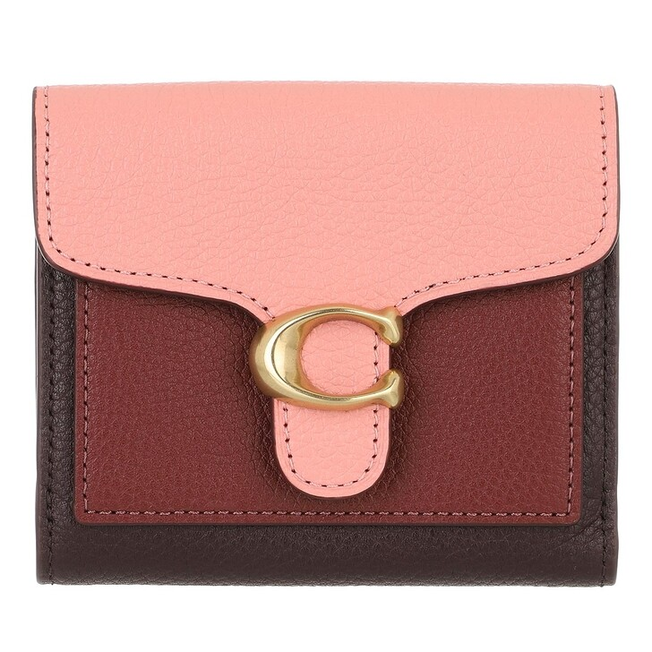 wallets, Coach, Colorblock Tabby Small Wallet Candy Pink