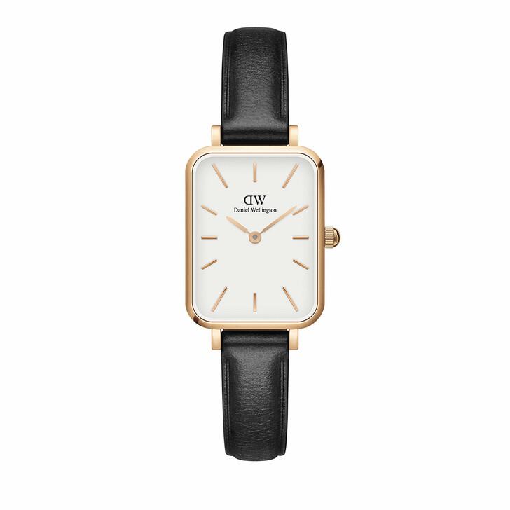 watches, Daniel Wellington, Watch Quadro 20X26 Pressed Sheffield Rosegold White