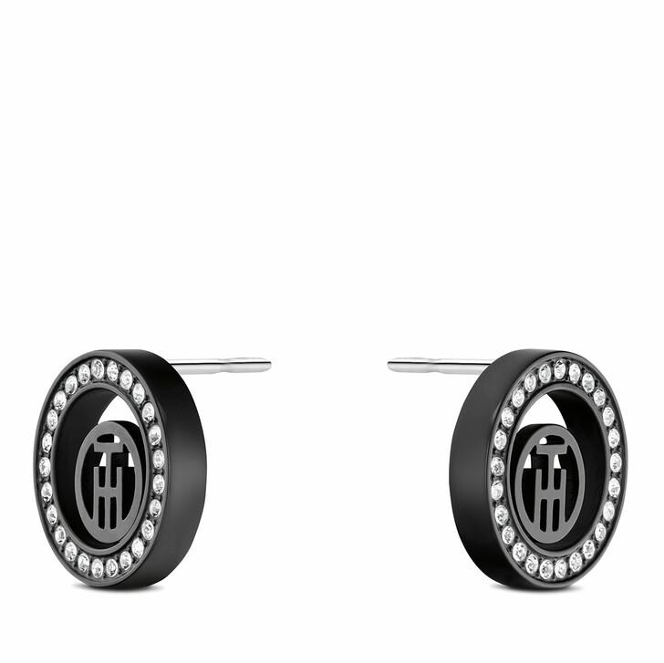 earrings, Tommy Hilfiger, Earrings Black