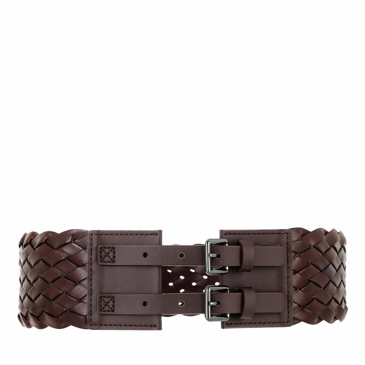 belts, WEEKEND Max Mara, Disegno Belt Tabaco