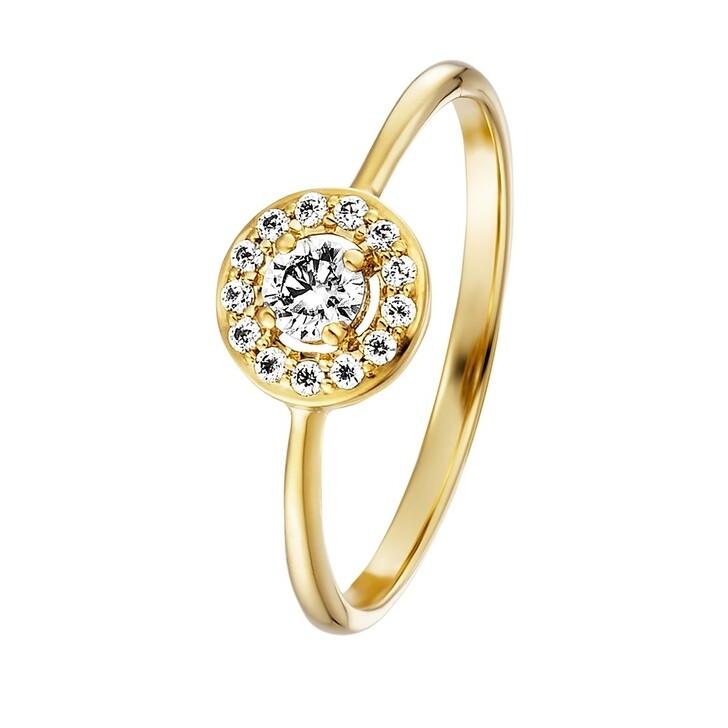 Ring, BELORO, Ring Zirconia 9K  Gold