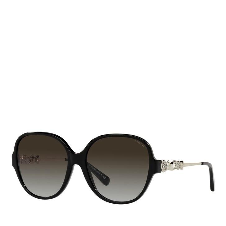 Sonnenbrille, Coach, 0HC8303B Solid Black