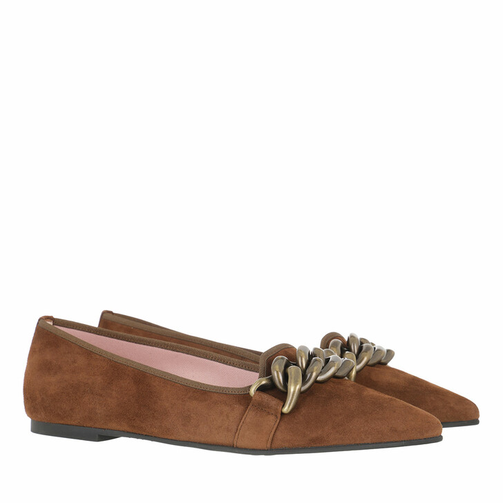 shoes, Pretty Ballerinas, Rosario Loafers Brown