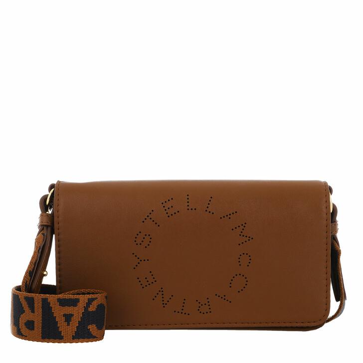 Handtasche, Stella McCartney, Mini Crossbody Bag Eco Soft Alter Leather Cinnamon