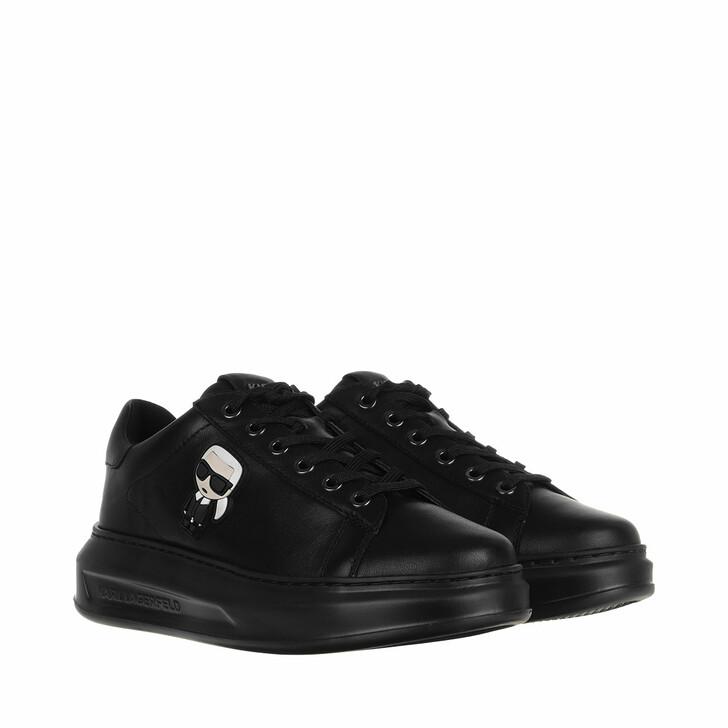 Schuh, Karl Lagerfeld, Kapri Karl Ikonic Lo Lace Sneaker Black Mono