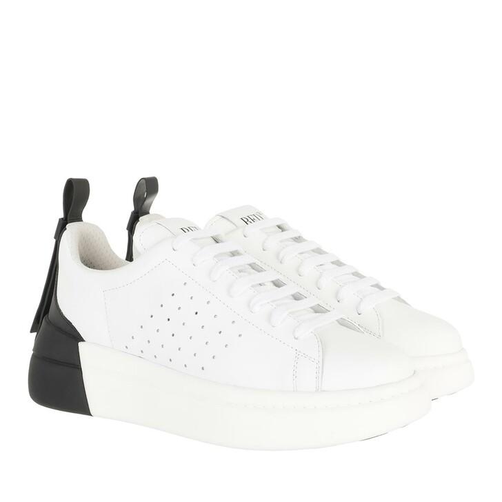 Schuh, Red Valentino, Sneaker White Black