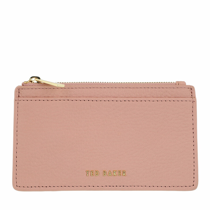 wallets, Ted Baker, Briell Zip Card Holder Pale Pink
