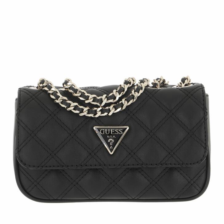 bags, Guess, Cessily Micro Mini Black