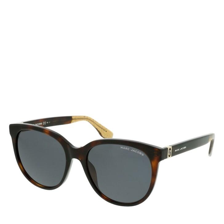 sunglasses, Marc Jacobs, MARC 445/S Havana Brown Glitter Gold
