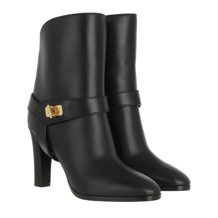 Schuh, Givenchy, Eden Boots Smooth Leather Black