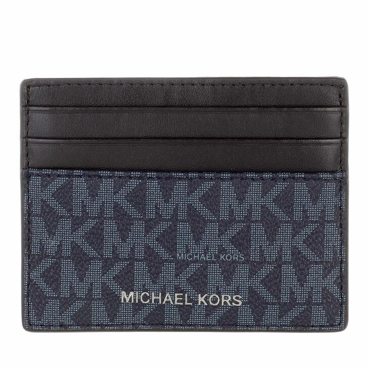 Geldbörse, MICHAEL Michael Kors, Tall Card Case Admiral/Blue