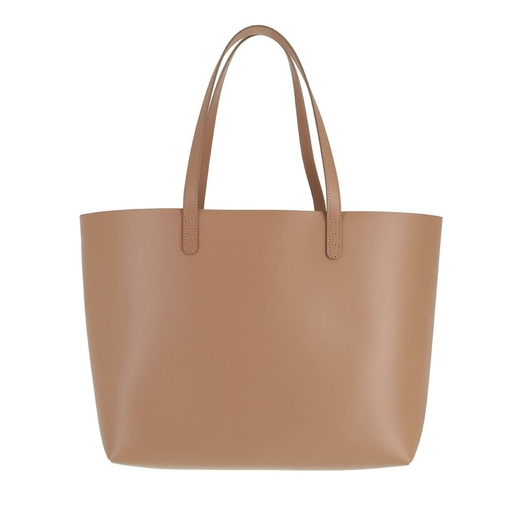 bags, Mansur Gavriel, Large Tote Shopping Bag Leather Biscotto