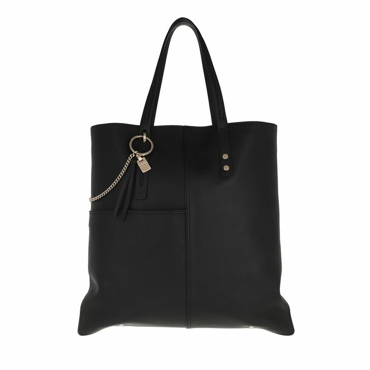 bags, Borbonese, Medium Shopping Bag Black