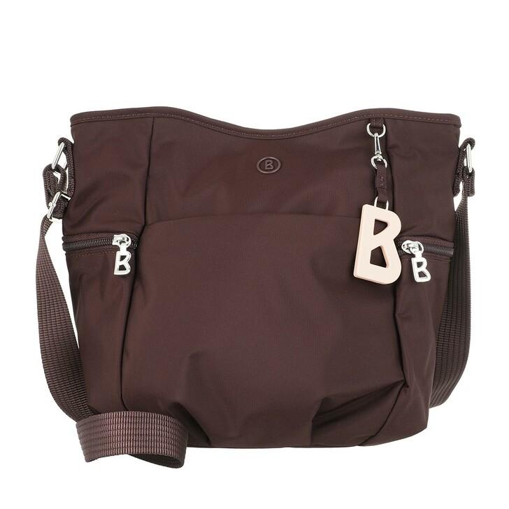 Handtasche, Bogner, Verbier Aria Shoulder Bag Burgundy