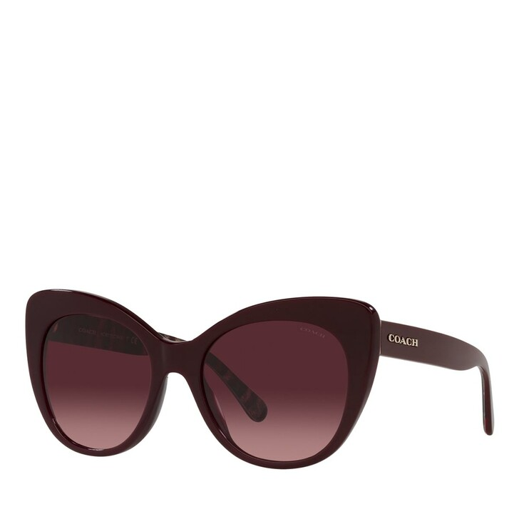 Sonnenbrille, Coach, 0HC8317 Oxblood