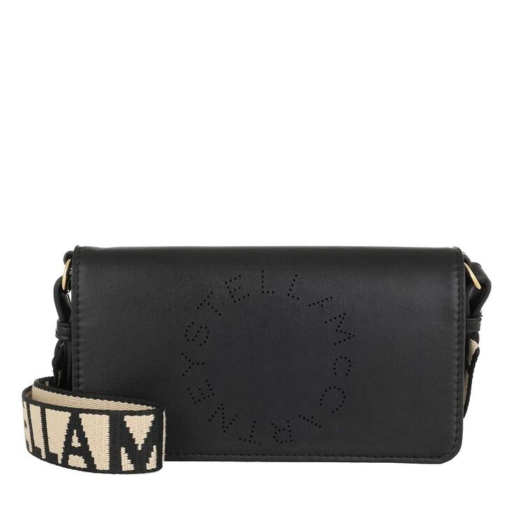 bags, Stella McCartney, Mini Crossbody Bag Eco Soft Alter Leather Black