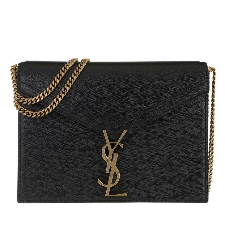 Handtasche, Saint Laurent, Cassandra Crossbody Bag Leather Black