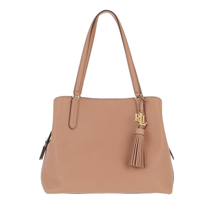 bags, Lauren Ralph Lauren, Quinn 34 Shoulder Bag Large Nude