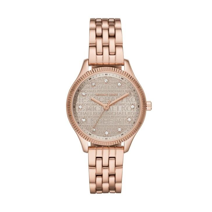 Uhr, Michael Kors, Lexington Jetset Watch Rose Gold