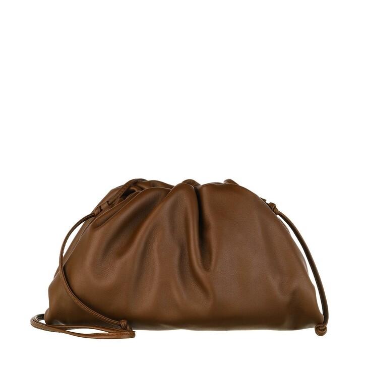 Handtasche, Bottega Veneta, The Mini Pouch Brownie Gold