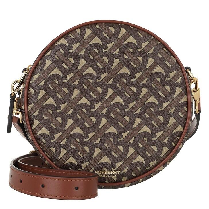Handtasche, Burberry, Louise Round Crossbody Bag Brown