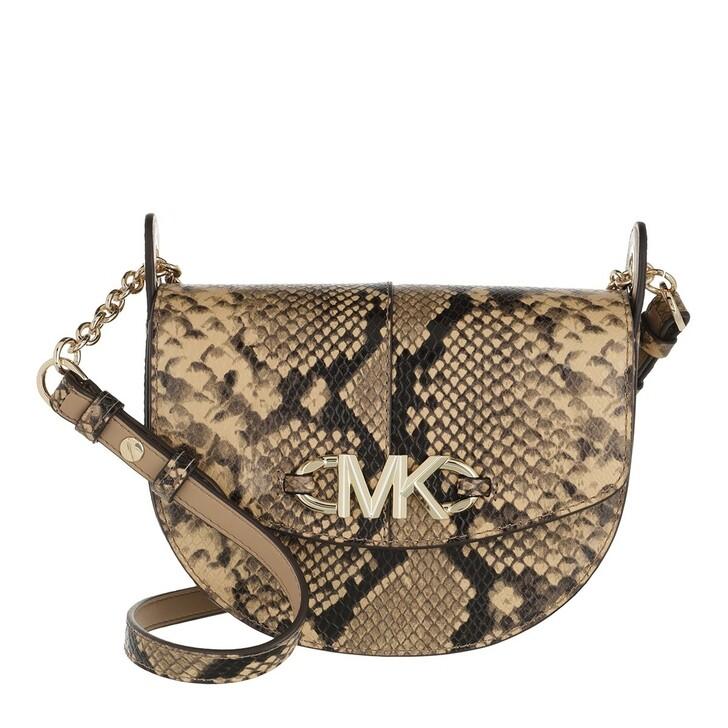 Handtasche, MICHAEL Michael Kors, Izzy Sm Conv Saddle Xbody Camel