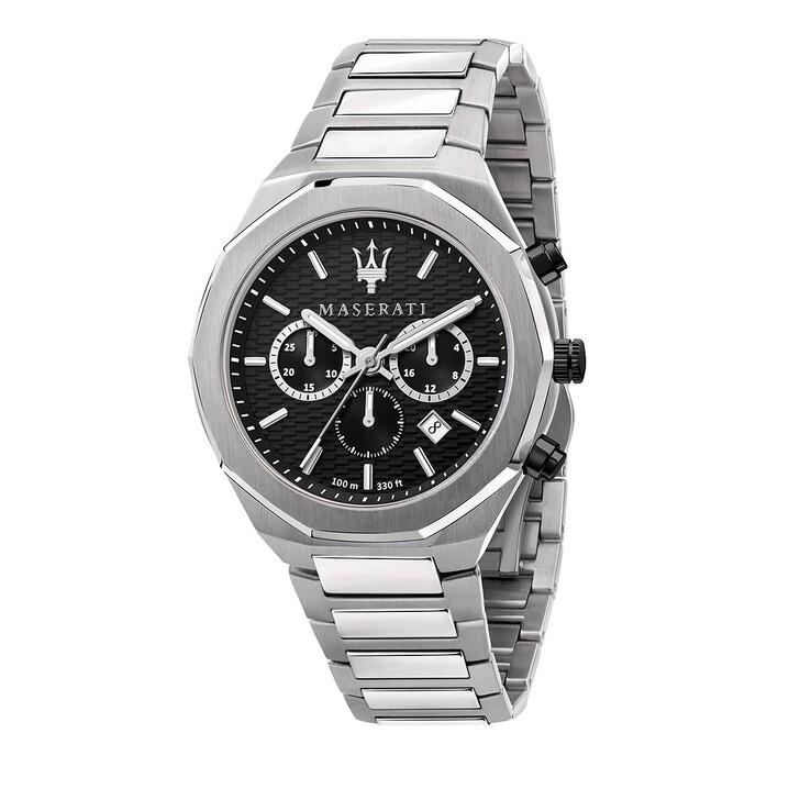 watches, Maserati, Stile 45mm silver