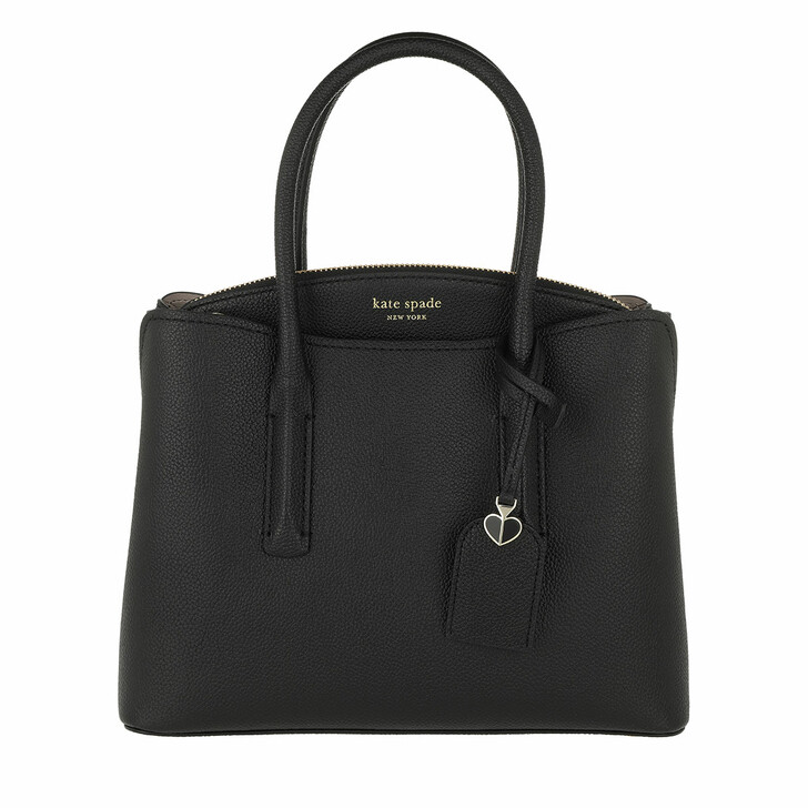 Handtasche, Kate Spade New York, Margaux Medium Satchel Bag Black