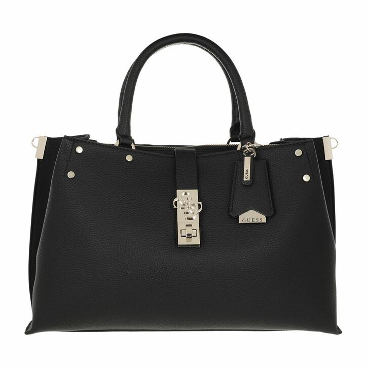 bags, Guess, Albury Lrg Girlfriend Satchel Black