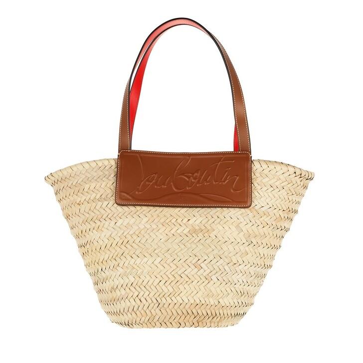 Handtasche, Christian Louboutin, Loubishore Shoulder Bag Beige Brown