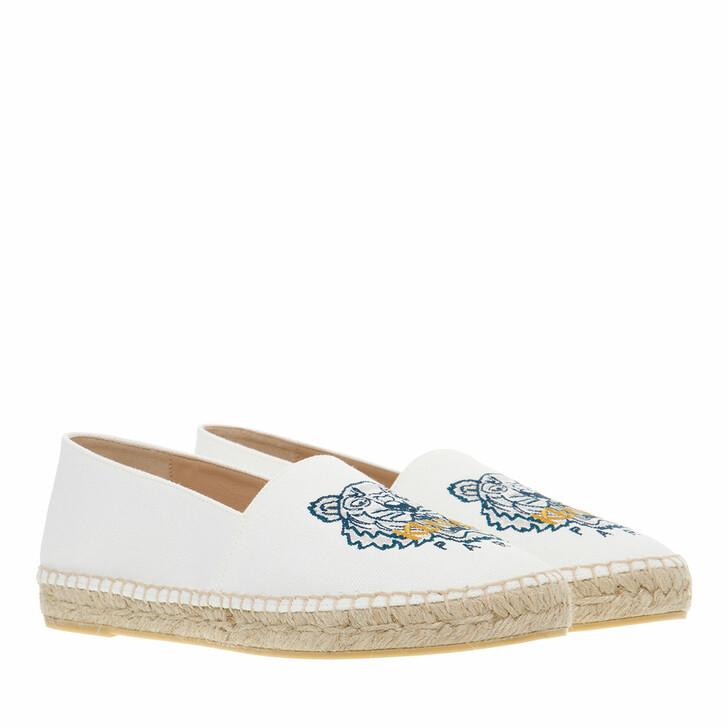 shoes, Kenzo, Espadrille White