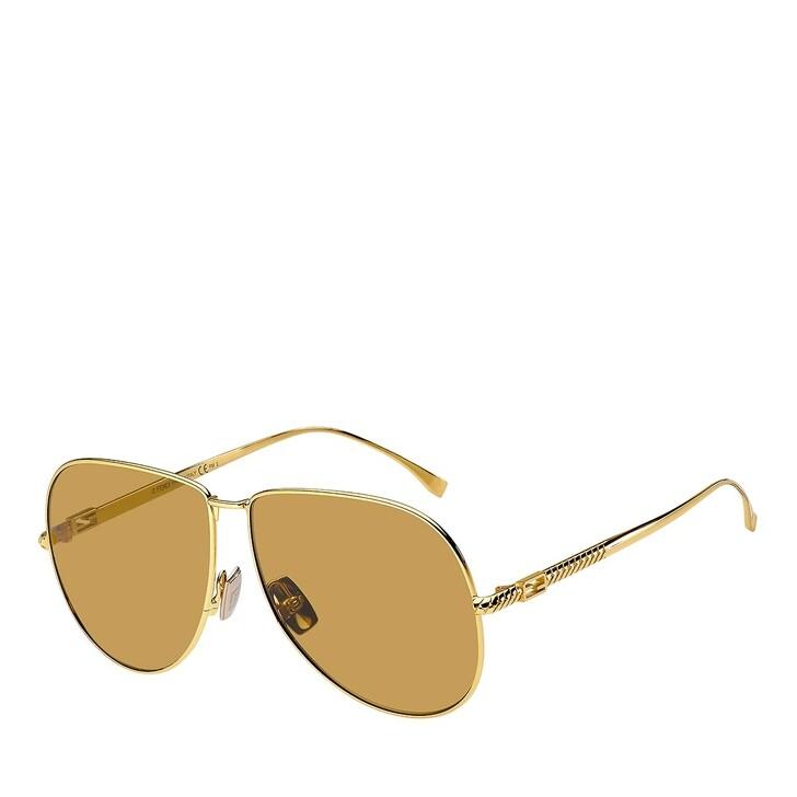 sunglasses, Fendi, FF 0437/S YELLOW GOLD