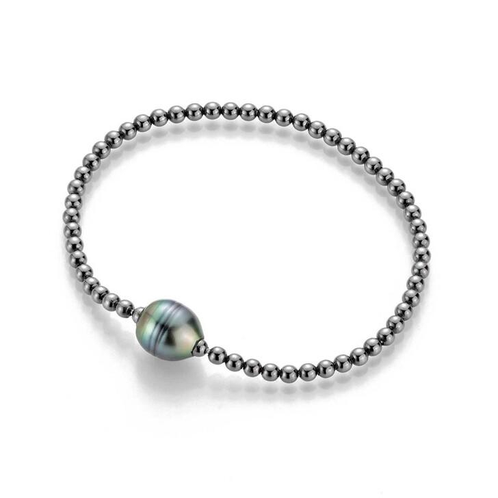 Armreif, Gellner Urban, Bracelet Cultured Tahiti Pearls Black Rhodium-Plated