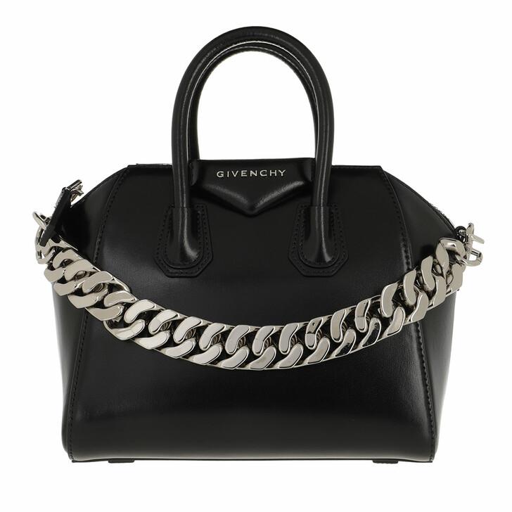 Handtasche, Givenchy, Mini Antigona Crossbody Bag Black