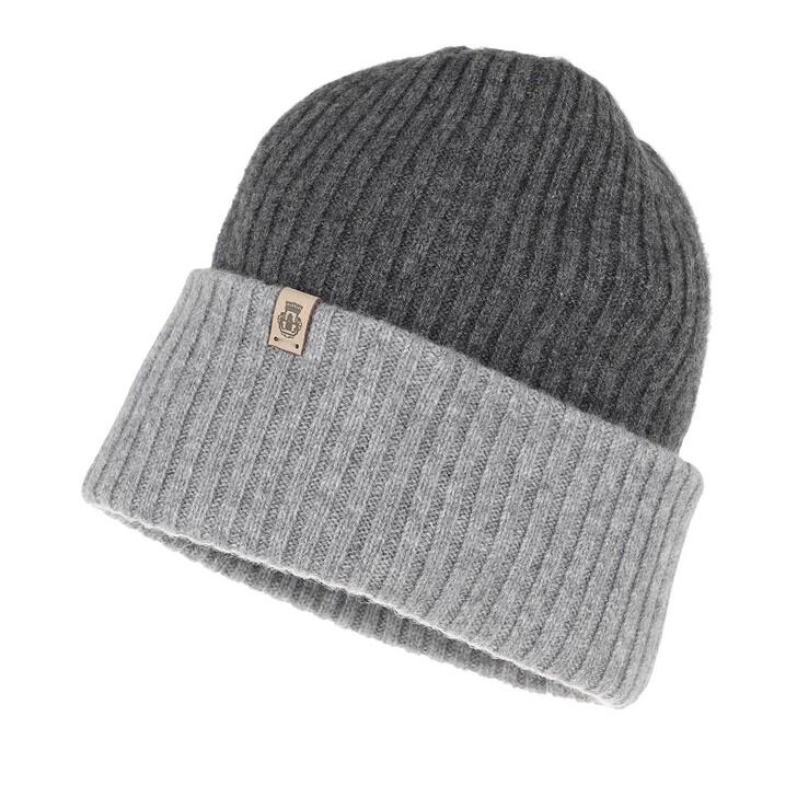 Schal, Roeckl, Cashmere Hat Anthracite Grey