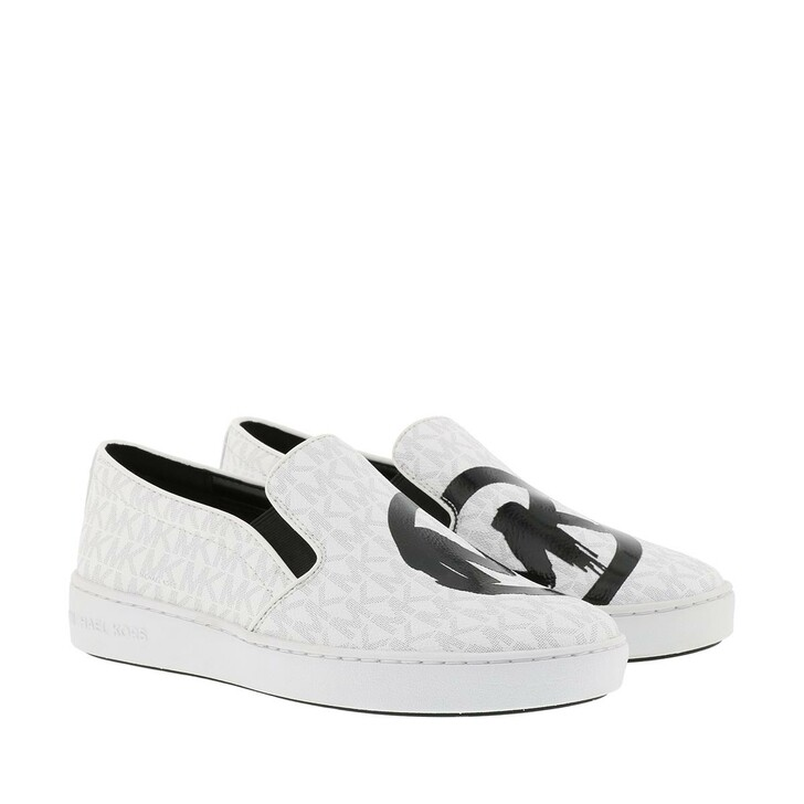 shoes, MICHAEL Michael Kors, Keaton Slip On White
