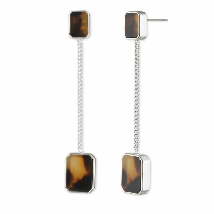earrings, Lauren Ralph Lauren, Earrings Tort Linear/Tort Silver