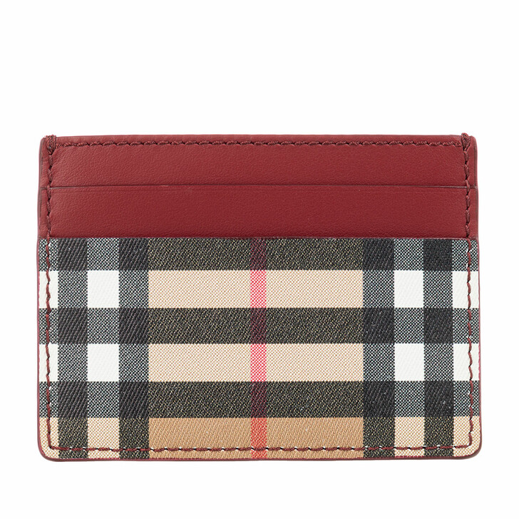 Handtasche, Burberry, Card Holder Crimson