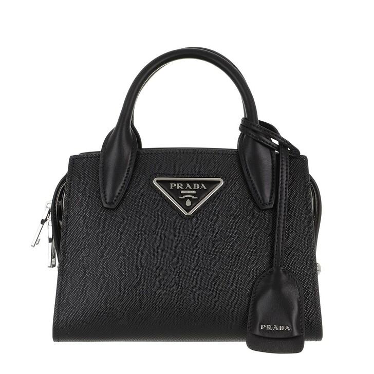 Handtasche, Prada, Galleria Tote Saffiano Leather Black
