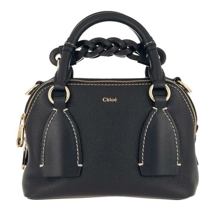 Handtasche, Chloé, Daria Shoulder Bag Small Full Blue