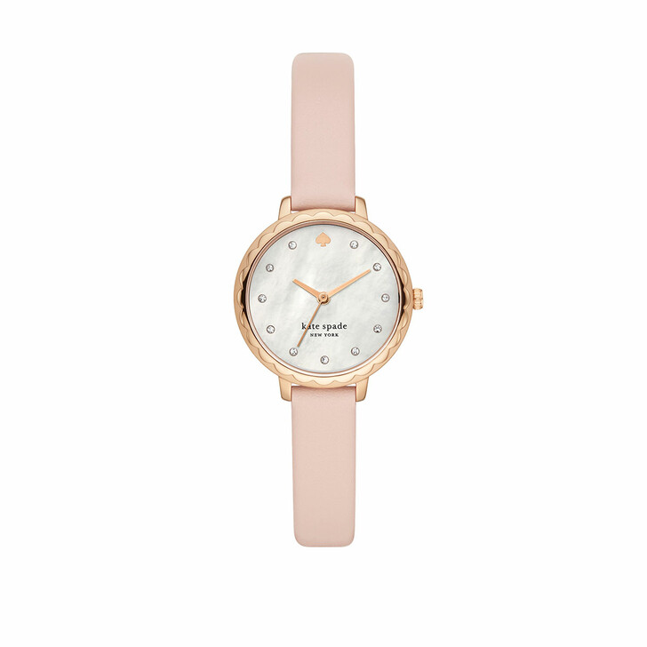 Uhr, Kate Spade New York, Morningside Leather Watch Pink
