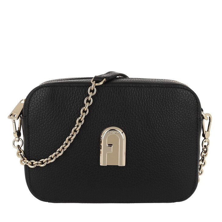 bags, Furla, Sleek Mini Camera Bag Black
