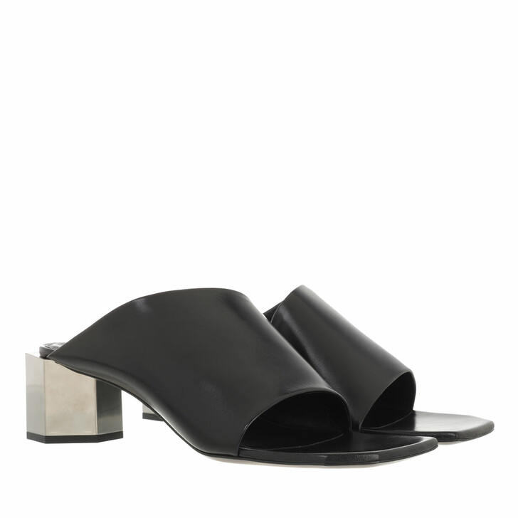 shoes, Off-White, Nappa Hexnut Open Mule  Black