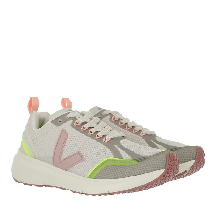 shoes, Veja, Condor 2 Alveomesh  Natural Babe Jaune-Fluo