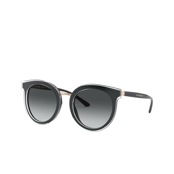Sonnenbrille, Dolce&Gabbana, 0DG4371 Top Crystal On Black