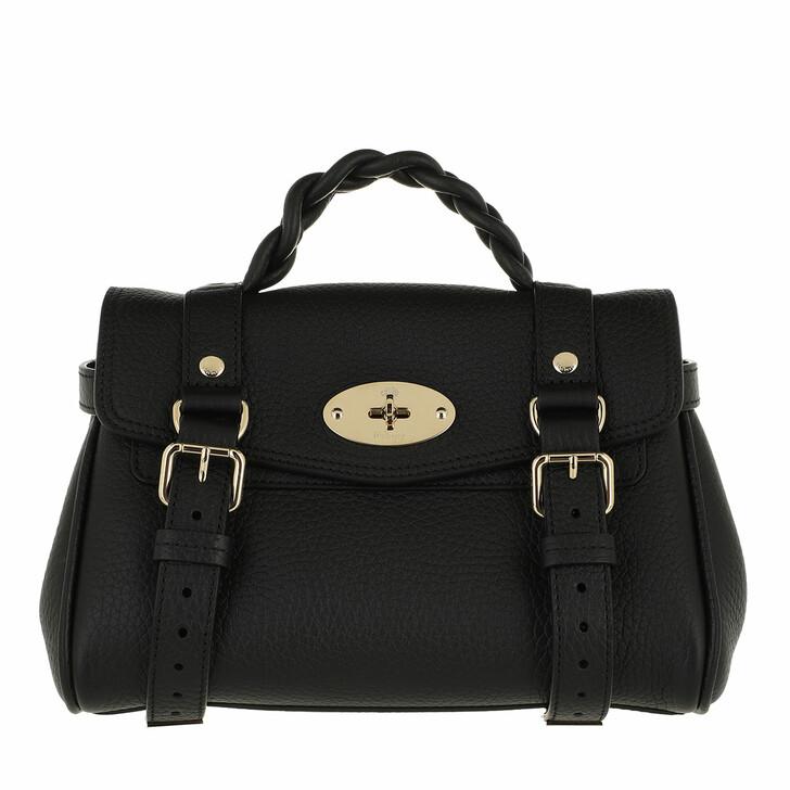 bags, Mulberry, Alexa Mini Crossbody Bag Black